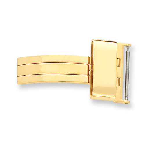 12mm Gold-tone Buckle Deployment Buckle. Price: $20.70