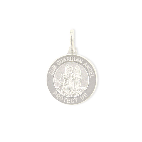 Sterling Silver Our Guardian Angel Medal. Price: $15.93