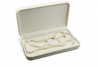14K 7-7.5mm White Freshwater Pearl Set. Price: $256.00