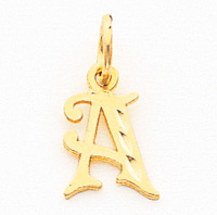 10k Initial R Charm. Price: $31.38