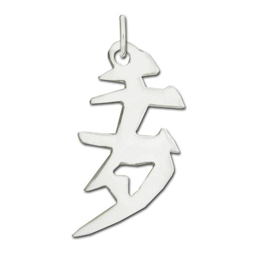 "Sterling Silver ""Cheetah"" Kanji Chinese Symbol Charm. Price: $39.95"