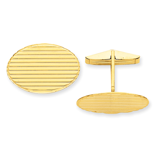 14k Cuff Links. Price: $740.20