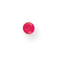 Synthetic 2mm Round July Birthstone. Price: $0.50