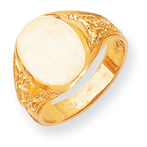 14k Men's Signet Ring. Price: $661.84