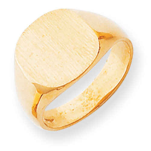 14k Men's Signet Ring. Price: $612.31