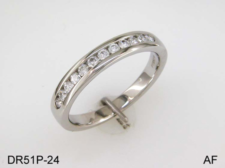 Diamond Platinum Ring. Price: $1116.00