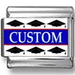 Graduation Caps Custom Photo Charm