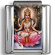 Hindu Goddess Lakshmi Photo Charm
