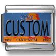 Utah License Plate Custom Charm
