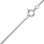 Sterling Silver 1.5mm Serpentine Chain