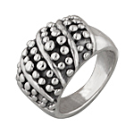 Sterling Silver Dots Ring