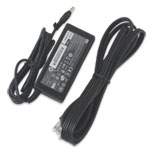HP Compaq AC Adapter 65 Watt: AC Adapter for HP Compaq Laptops - HP Compaq AC Adapter 65 Watt