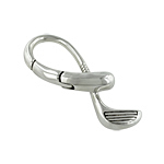 Sterling Silver Golf Club Key Ring