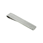 Sterling Silver Pin-Striped Money Clip