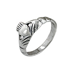 Sterling Silver Claddah Ring
