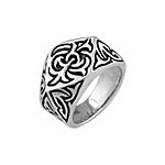 Sterling Silver Byzantine Style Ring