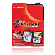 104 piece  Auto First Aid  Kit Soft Sided