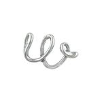 "Designer Inspired Sterling Silver Script ""w"" Pendant"