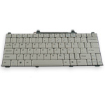 Keyboard for Dell Inspiron 710m. Part: 0TF359, TF359 - Silver Keyboard for Dell Inspiron 710m