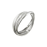 Sterling Silver 2mm Trinity Band