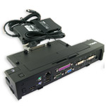E-Port Plus Replicator with 130-Watt Power Adapter. Dell Parts: YP126, 430-3114 - E-Port Plus with 1