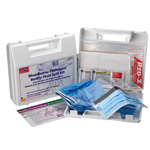 23 piece, Bloodborne Pathogen / Bodily Fluid Spill Kit - Plastic Case