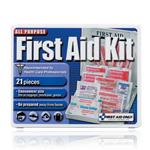 2 Person, Travel First Aid Kit - Plastic case
