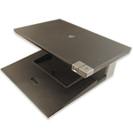 STR Laptop Stand for Dell Latitude E-Family Laptops . Parts: 0J858C, J858C, 330-0875, W005C - CRT Mo