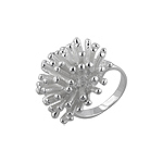 "Sterling Silver ""Coral Reef"" Ring"