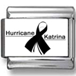 Hurricane Katrina Awareness Ribbon Donation Charm