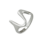Sterling Silver Scribble Ring