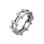 Sterling Silver Bike Chain Ring