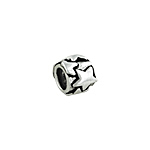 Sterling Silver Stars Bead