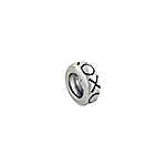 Sterling Silver XO Bead Spacer
