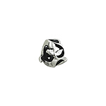 Sterling Silver Filigree Vine Bead Spacer