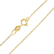 14K 0.46mm Box Chain