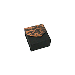 Black-Leopard Earrings Box