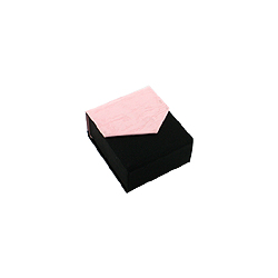 Black-Pink Earrings Box
