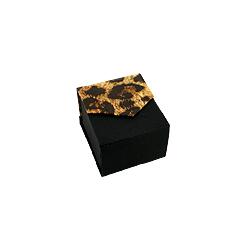 Black-Leopard Ring Box