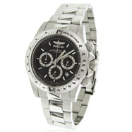 Invicta Speedway Chronograph S Series Black Dial Watch