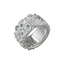 Sterling Silver Winding Line Ring