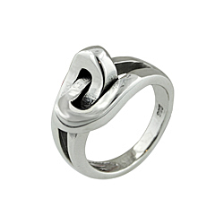 "Sterling Silver ""Knot"" Ring"