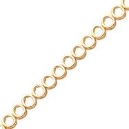 14K Gold Add-A-Diamond Tennis Bracelet Mounting