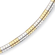 Sterling Silver & Vermeil 4mm Cubetto Necklace