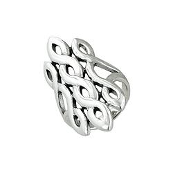 Sterling Silver Triple Twist Ring