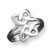 Sterling Silver Fancy Knot Ring