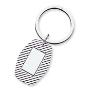 Sterling Silver Key Chain