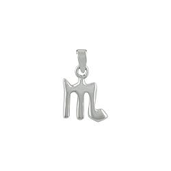 Sterling Silver Scorpio Zodiac Symbol Pendant