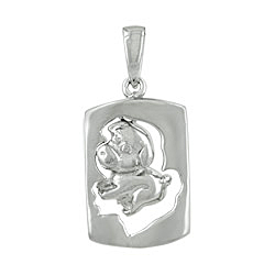 Sterling Silver Chinese Calendar Year of the Pig Pendant