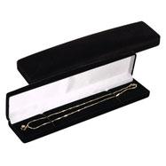 Velvet Black Bracelet Box